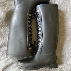 UGG Black Rainboot